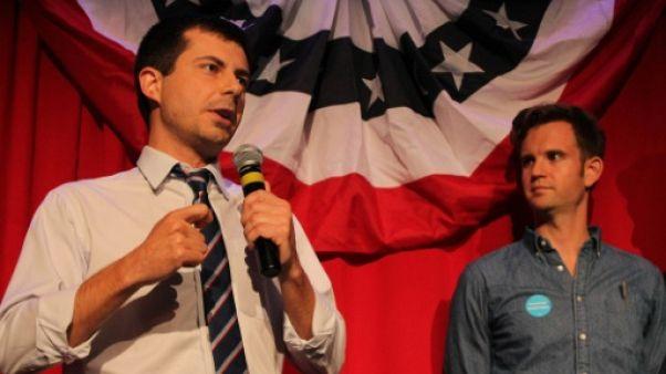 """""""L'Amérique pourrait être prête"""" pour un président gay, selon un candidat démocrate"""