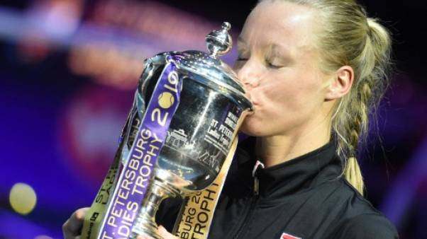 Tennis: Kiki Bertens remporte son huitième titre à Saint-Pétersbourg