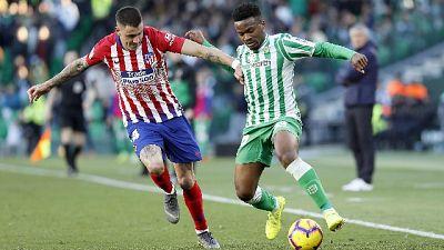 Liga, sorpresa Betis, 1-0 a Atletico