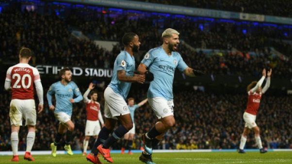 Angleterre: les deux Manchester rebondissent, Agüero voit triple