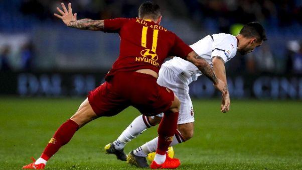 Serie A: Roma-Milan 1-1