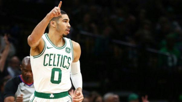 NBA: Boston stoppe Oklahoma City, les Knicks touchent le fond