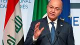 Iraqi president says Trump did not ask permission to 'watch Iran'