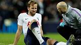 Tottenham's Kane to step up recovery from ankle injury next week