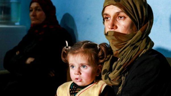 Dans l'est syrien, des Yazidies rescapées de l'enfer de l'EI