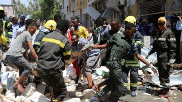 Somalie: au moins 9 morts dans un attentat sur un marché de Mogadiscio