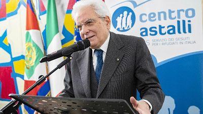 Migranti: Mattarella, intervento globale