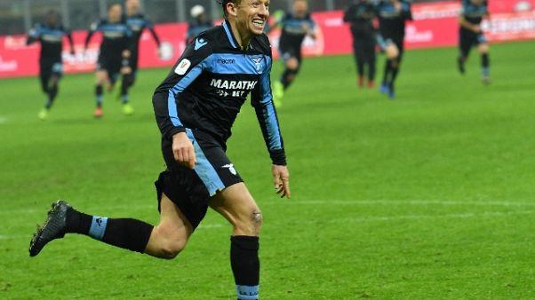 Coppa Italia: Lazio-Milan martedì 26/2