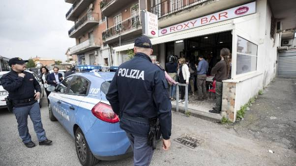 Raid in bar: pm Roma,7 anni a Casamonica