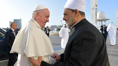 Papa, odio in nome fede profanazione Dio