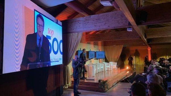Athesis presenta 'Top 500'Verona-Vicenza
