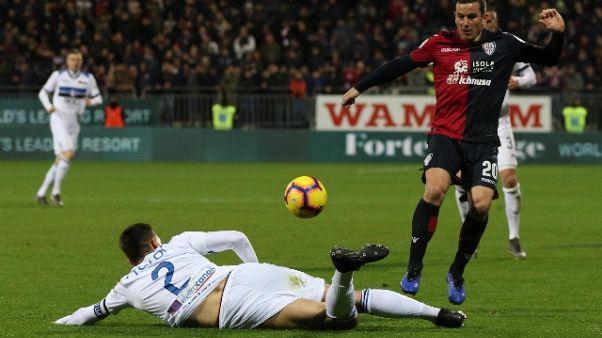 Serie A: Cagliari-Atalanta 0-1