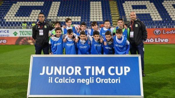 La Junior Tim Cup sbarca in Sardegna