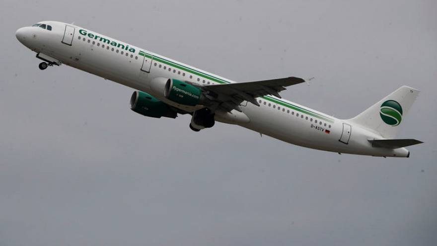 German airline Germania files for insolvency