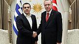 Tsipras et Erdogan souhaitent maintenir le dialogue entre leurs deux pays