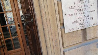 Condanna corruzione, giudice al Tar Vda