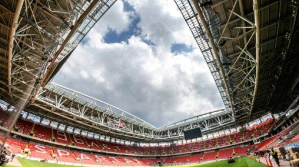 L'intérieur du Spartak Stadium, le 23 mai 2018