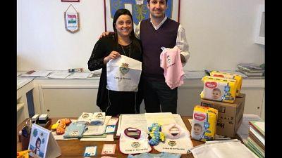 Kit bebè e fondo pensione per nuovi nati