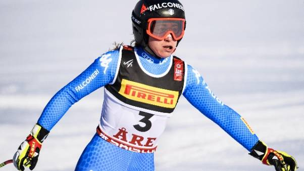 Mondiali sci: Goggia argento in Superg