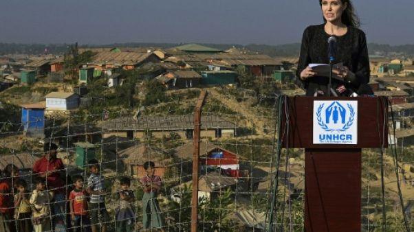 Rohingyas: Angelina Jolie appelle la Birmanie à cesser la persécution