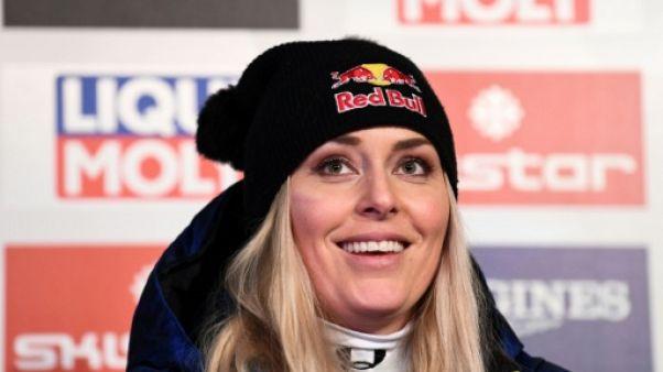 """Vonn: """"J'essaierai d'être en affaires comme j'étais sur les skis"""""""