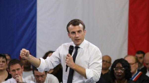 Pour Macron, l'autocritique passe aussi par le sport et les Jeux olympiques