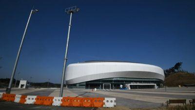 Palais des Glaces de Gangneung, en Corée du Sud, le 24 janvier 2019