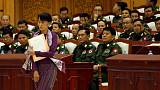 Myanmar parliament approves panel to discuss constitution despite military protest