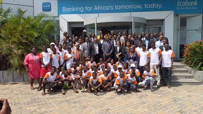 Ecobank et Terre des Hommes lancent un projet d'épargne sécurisé en vue d'équiper les enfants en situation de rue contre la pauvreté