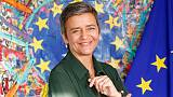 EU competition chief to give news conference on merger cases at 1045 GMT