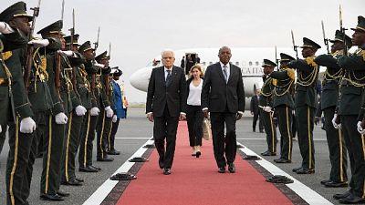 Mattarella in Angola incontra Presidente