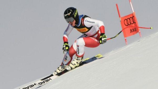 Mondiaux de ski: Gut domine le 2e entraînement de descente, Vonn absente