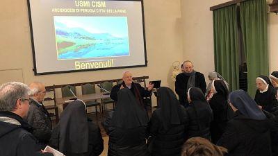 Bassetti incontra congregazioni