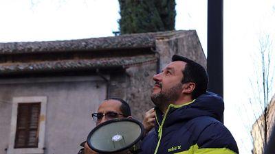 Salvini, vogliamo cambiare l'Umbria