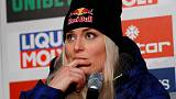 Alpine skiing - Vonn sits out downhill training after Super-G crash