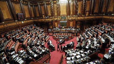 Decretone in Aula al Senato dal 19/2