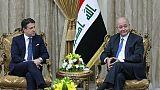 Le chef du gouvernement italien à son tour à Bagdad