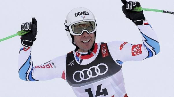 Mondiali sci:Clarey più anziano su podio