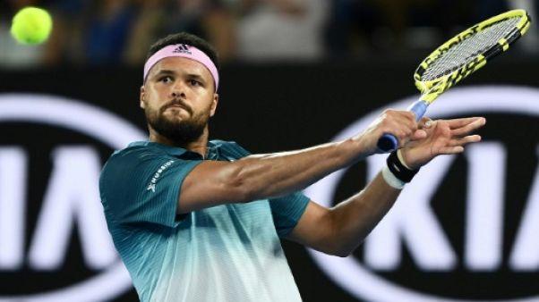 Tennis: Tsonga enchaîne et retrouve Chardy en quart à Montpellier