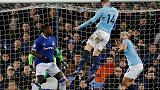 Man City go top of the Premier League with win at Everton