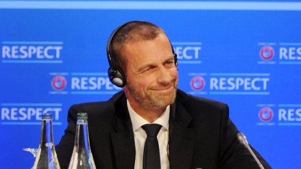 Uefa, Ceferin 'non ci sarà Superlega'