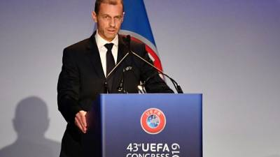 """UEFA: """"Pas de Super Ligue"""" tant que Ceferin et Agnelli sont là"""