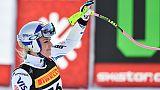 Mondiaux de ski: Vonn manque encore l'entraînement de descente