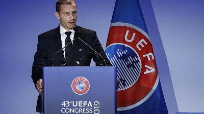 Uefa: Ceferin rieletto presidente