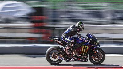 Moto: Vinales domina 2/a giornata test