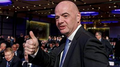 """Razzismo, Infantino """"bene norme Figc"""""""