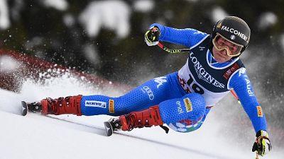 Mondiali sci: test libera, Goggia 15/a