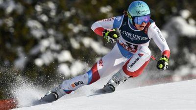 Mondiaux de ski: Holdener domine le 3e entraînement de la descente