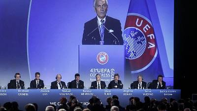 Figc,Gravina soddisfatto per plauso Uefa
