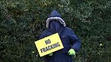 No plans to review gas fracking rules - British government